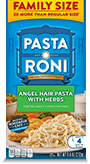 Menu Item Pasta Roni Family Size Angel Hair Pasta with Herbs
