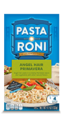 Menu Item Pasta Roni Angel Hair Primavera