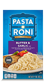 Menu Item Pasta Roni Butter & Garlic