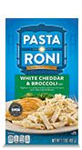 Menu Item Pasta Roni White Cheddar & Broccoli