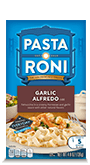 Menu Item Pasta Roni Garlic Alfredo