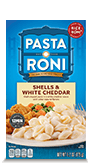 Menu Item Pasta Roni Shells & White Cheddar