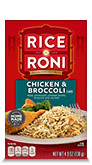 Menu Item Rice A Roni Chicken & Broccoli