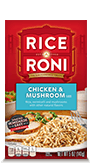 Menu Item Rice A Roni Chicken & Mushroom