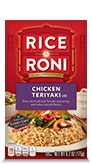 Menu Item Rice A Roni Chicken Teriyaki