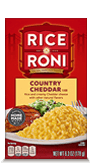 Menu Item Rice A Roni Country Cheddar