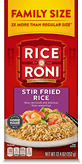 Menu Item Rice A Roni Family Size Stir Fried Rice