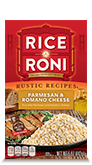 Menu Item Rice A Roni Rustic Recipes Parmesan & Romano Cheese