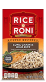 Menu Item Rice A Roni Rustic Recipes Long Grain & Wild Rice