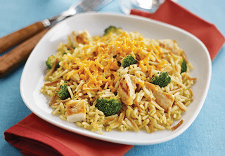 Cheesy Chicken and Broccoli)
