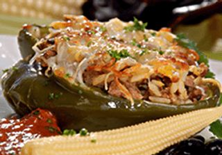 Stuffed Bell Peppers Nogales Recipe