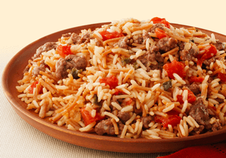 Zesty Spanish Beef and Rice